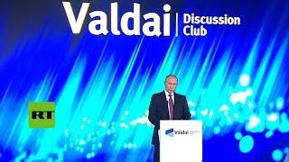 Putin habla de la crisis política en Cataluña