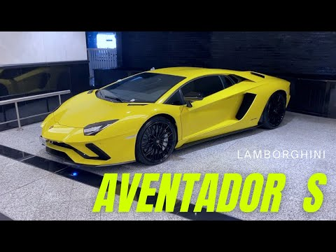 """LAMBORGHINI AVENTADOR S"" – at Mall of the Emirates, Dubai | Dave's Supercars"