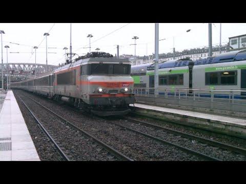 FR#76 - Trafic aux heures de pointe en gare de Paris-Nord: TGV TER Intercités - 02/04/16
