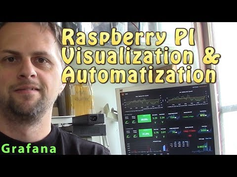 Raspberry Solar tool - Visualization and controller