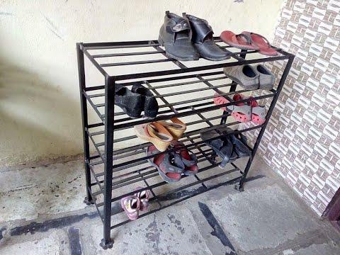 Big & Strong 5 Tier Metal Shoes Rack