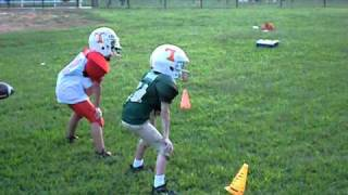 Biggest Football Hit ever by a 8 yr old