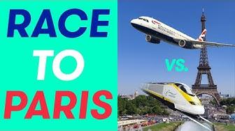 Eurostar vs British Airways: Racing from London to Paris