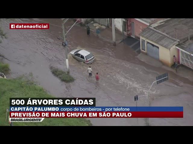 Chuva castiga São Paulo nesta terça-feira