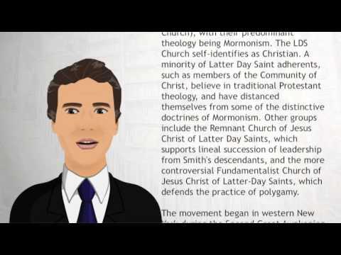 Latter Day Saint movement - Wiki Videos