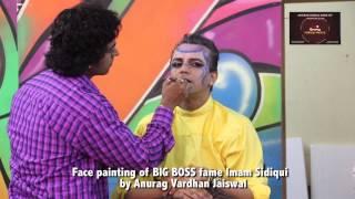 anurag makeup mantra imam shedding makeup