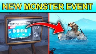 *NEW* POLAR PEEK MONSTER EVENT *LEAKED* (CATTUS EVENT) FORTNITE COUNTDOWN ON TV'S COMING!