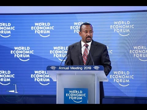 Dr Abiy Ahmed: World Economic Forum Speech 2019