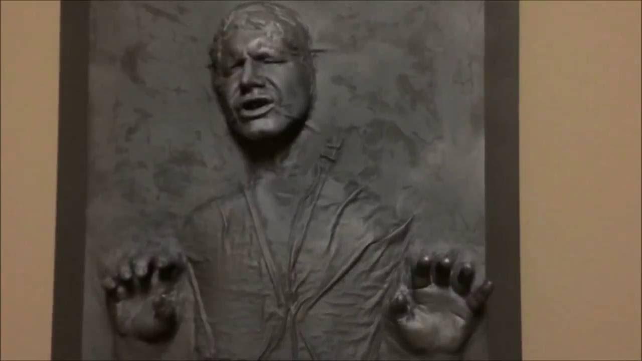 Han Solo In Carbonite DIY 2016