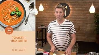 Tomaatti-linssikeitto