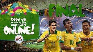 Copa do Mundo Online! - FINAL - Brasil x Argentina - 2014 Fifa World Cup Brazil(Acesse: http://www.fifacoinszone.com/?aff=6301 e compre COINS para qualquer plataforma por um preço justo! Entrega RÁPIDA e SEGURA! - Cupom 15% de ..., 2014-05-02T23:12:48.000Z)