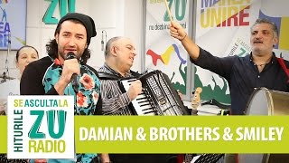 Damian & Brothers si Smiley - In statie la Lizeanu (Live la Marea Unire ZU)