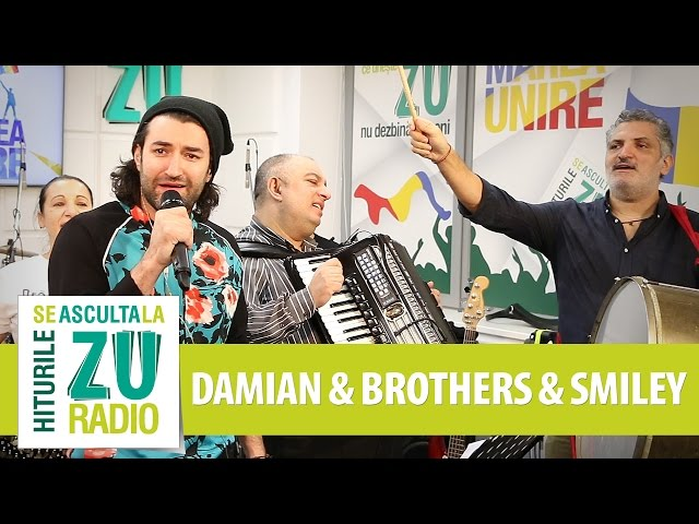 Damian Brothers si Smiley - In statie la Lizeanu