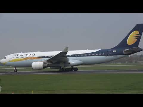 JET AIRWAYS INAUGURAL Departure Manchester MAN To Mumbai BOM
