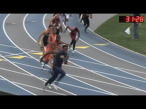 2015 Track - CIF-ss Finals - 4x100 Relay (Mens D3)