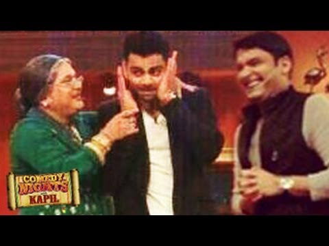 Virat Kohli on Comedy Nights with Kapil 28th June 2014 Episode UNSEEN PHOTOS