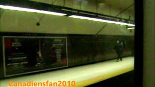 Montreal Metro Orange Line Montmorency MR-73 Part 4/6 HD