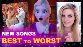 Frozen 2 Soundtrack - Songs Ranked!