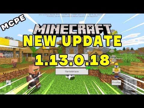 mcpe---minecraft-bedrock-beta-update-1.13.0.18-✔️