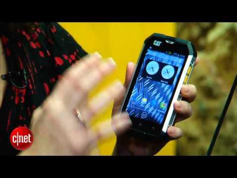 Cat B15 is a rugged smartphone