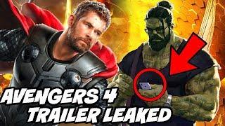 Avengers 4 trailer leaked Description Explained after Avengers Infinity War