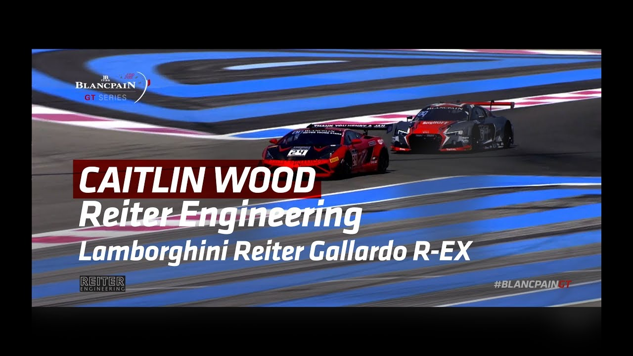 Caitlin Wood - Reiter Engineering - Blancpain GT Series 2017