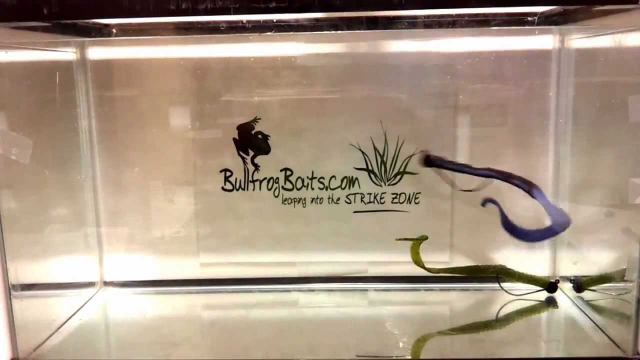 """bullfrog baits 10.5"""" slop worm - custom colors - custom design, Soft Baits"""
