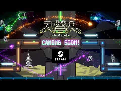 入替人-ReplaceR- Caming Soon! Steam Metroidvania