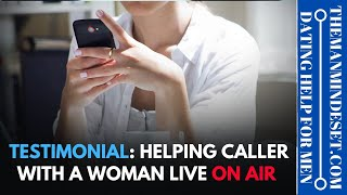 Testimonial Helping a guy out with texting LIVE on air