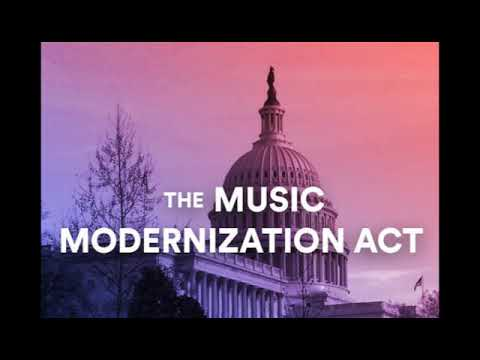US SENATE PASSES MUSIC MODERNIZATION ACT