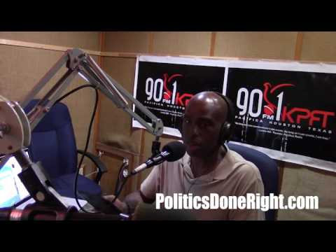 Politics Done Right on KPFT - America needs a modernized Democratic Party that is willing to fight