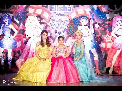 Elisha's Barbie Rockstar 7th Birthday At Marilao Convention Center