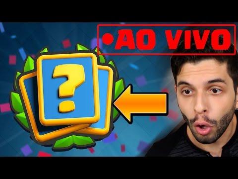 AO VIVO JOGANDO O DESAFIO DA COPA DO REI! - Clash Royale
