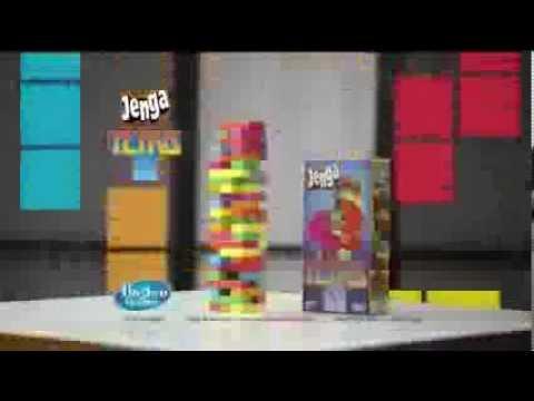 Tv Commercial Hasbro Jenga Tetris Youtube