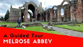 A Guided Tour Around Melrose Abbey | Malibu Scottish Tour 2019