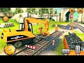Games for kids #3d : train truck dumper and train track constructor #geme
