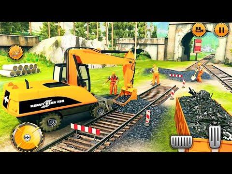 Kinder 3D: Zug LKW Kipper und Zug Spur Konstrukteur geme