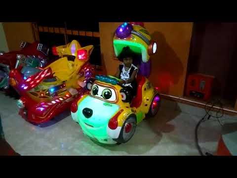 Seran's Fun park Theni kids Playing with toys