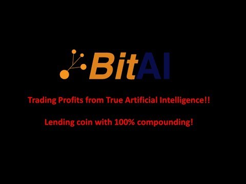 BitAI Network. An artificially intelligent lending coin with 100% compounding