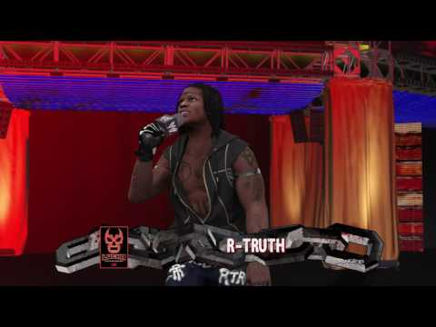 Enzo Amore, Road Dogg and R-Truth's WWE 2K17 entrances but without music because PS4 Share.
