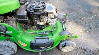 Repairing Trashpicked Mower