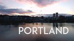 Portland Oregon April 2017 Aerial Tour in 4K