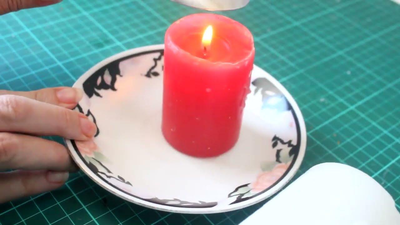 C mo decorar velas para navidad colaborativo con lucha for Decorar jarrones con velas