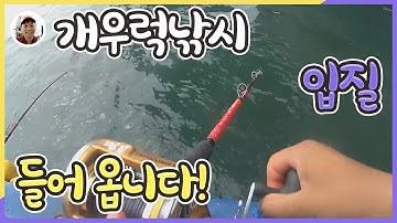 [밀루유떼]연안부두 킹콩호 우럭낚시체험 출발