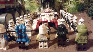 Star Wars the Clone War Story Chapter Two (a lego star wars stop motion)
