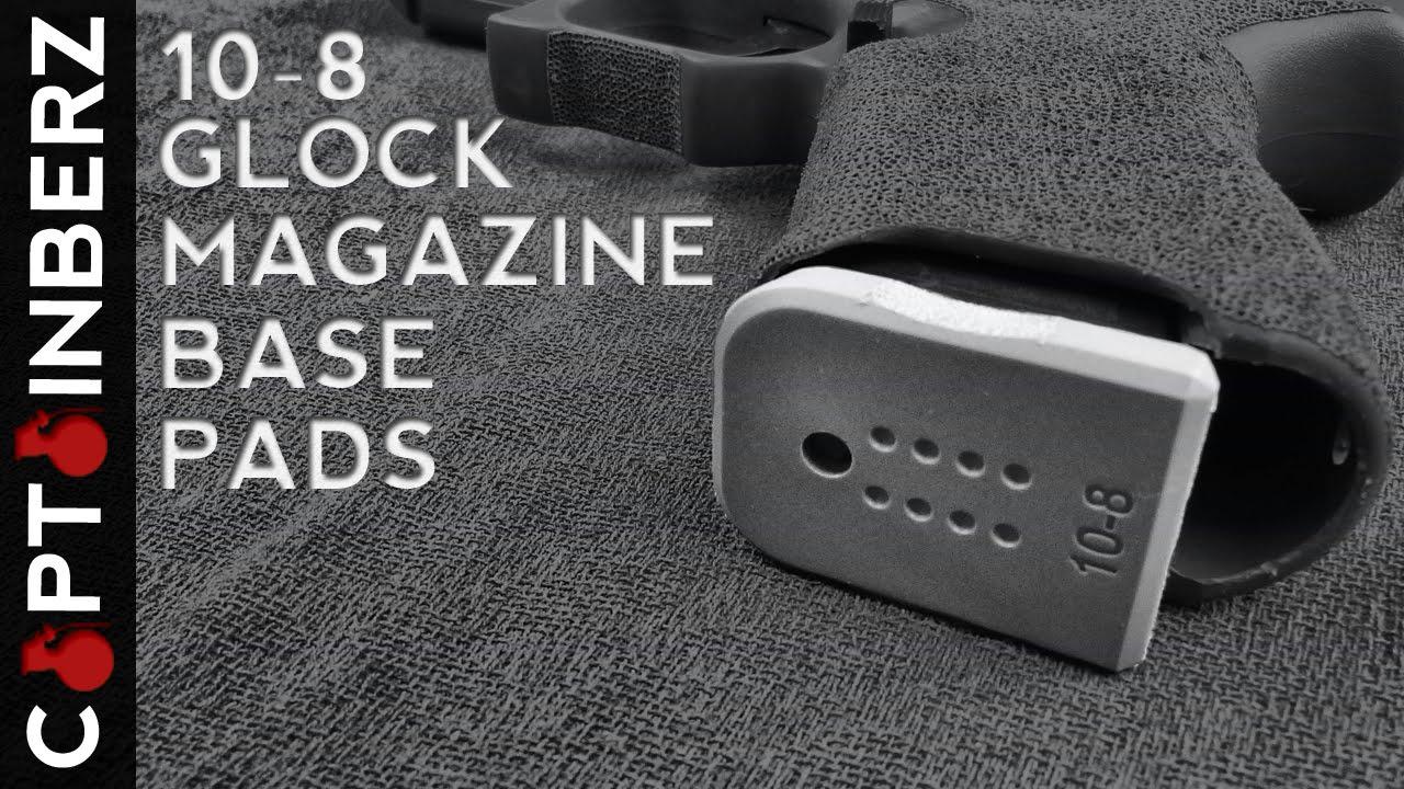 Glock Magazine Base Pads By 10 8 Performance