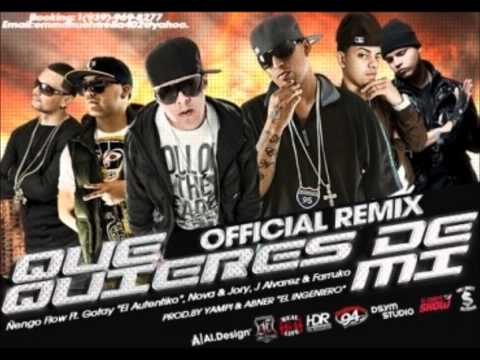 "Que Quieres De Mi (Official Remix) - Nengo Flow ft Gotay ""El Autentiko"", & Various Artists"