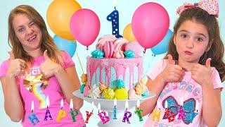 Эмма отмечает день рождение канала. Весёлое видео для детей