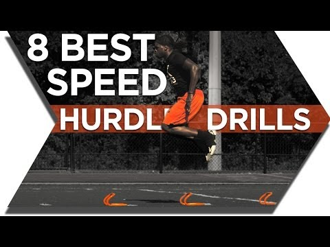 SPEED HURDLE TRAINING BEST DRILLS FOR MINI HURDLES