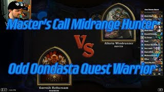 Odd Ondasta Quest Warrior vs Master